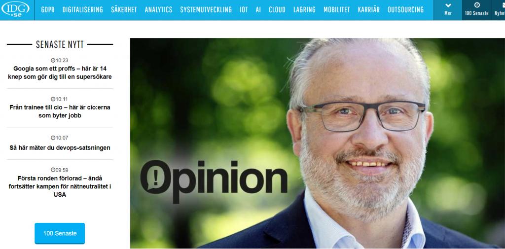 Benny Lundberg, vd på it-konsultbolaget Tagore.
