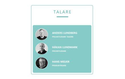 Talare på Tagores populära GDPR-webbinarium